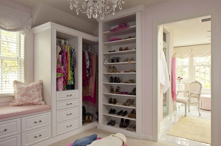 View Full Size. Glamorous Walk In Closet ...