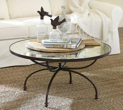 willow coffee table pottery barn