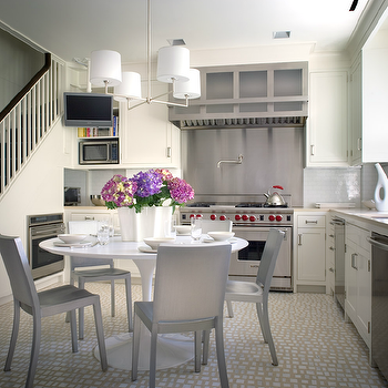Brushed Nickel Dining Chairs Design Ideas