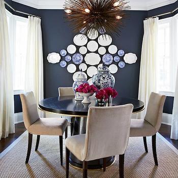 dark blue walls design ideas