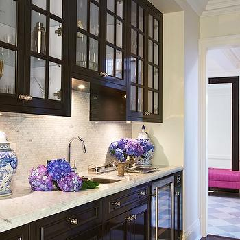 Espresso Cabinets, Contemporary, kitchen, McGill Design Group