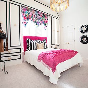 Teen Girl's Bedroom, Modern, girl's room, Lucy and Company