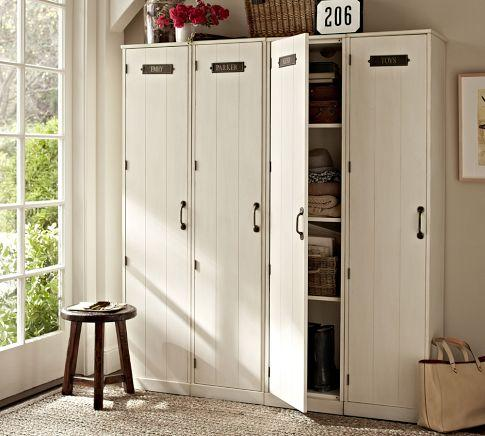 Modular Family Lockers Pottery Barn
