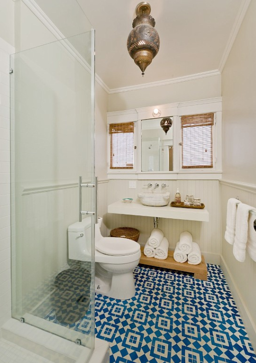 Moroccan Bathroom Mediterranean Bathroom Gordon Stein Design