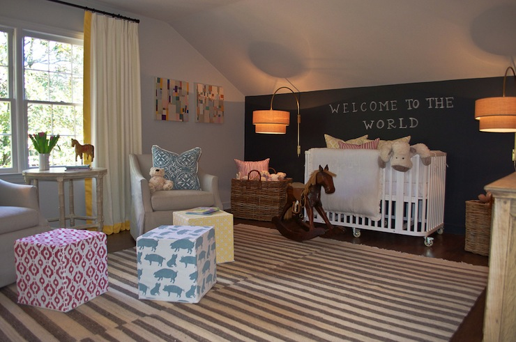 Gender neutral nursery transitional nursery scout for Neutral front room ideas
