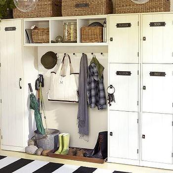 Modular Family Locker Entryway System, Pottery Barn