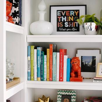 Bookcase Vignette, Contemporary, bedroom, coco & kelley
