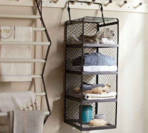 & Kendall Hanging Multi-Shelf - Pottery Barn