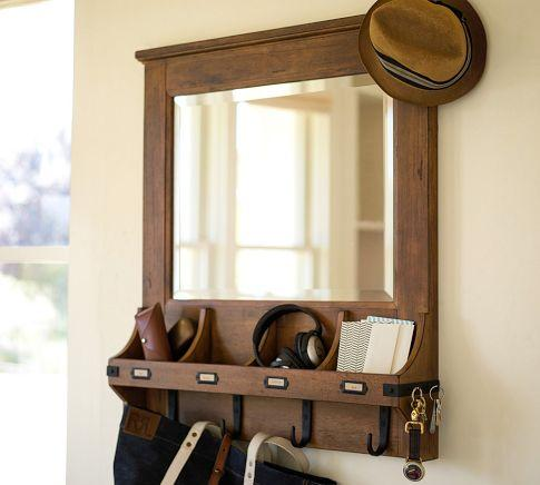 Chester Entryway Organizer Pottery Barn