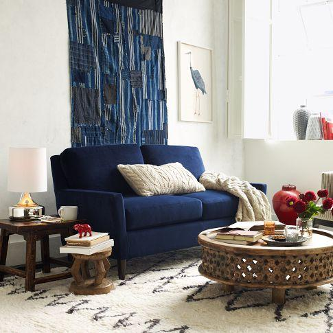 Tremendous Everett Upholstered Loveseat West Elm Caraccident5 Cool Chair Designs And Ideas Caraccident5Info