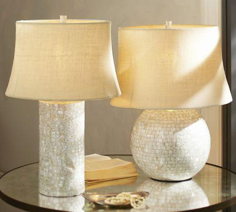Mother Of Pearl Table Lamp Bases Pottery Barn