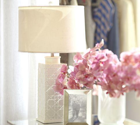 White Unicorn Ceramic Lamp Base