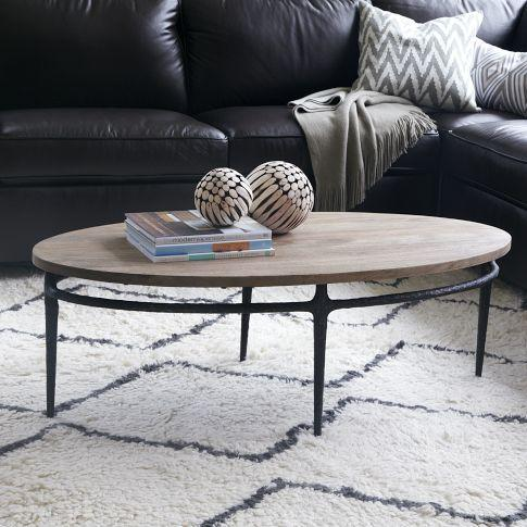 Cast Base Coffee Table West Elm