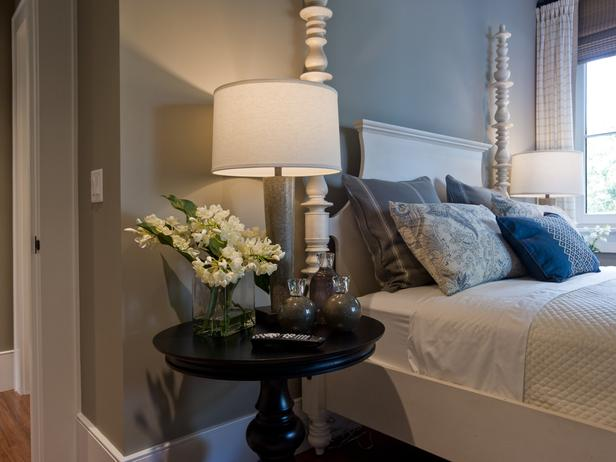 Ethan Allen Bed - Cottage - bedroom - Sherwin Williams Fawn ...
