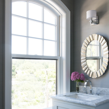 Oval Bathroom Mirror Design Ideas