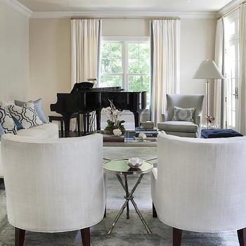 Neutral Toned Living Room, Transitional, living room, Morgan Harrison Home
