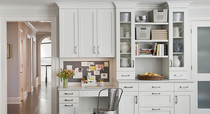 built in desk contemporary kitchen kitchens by deane. Black Bedroom Furniture Sets. Home Design Ideas