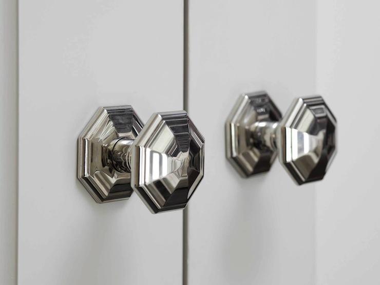 Nice Octagonal Faceted Door Knobs View Full Size