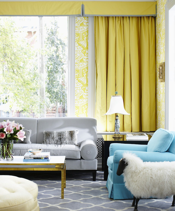 Yellow And Gray Room Contemporary Dining Room Diane Bergeron Interiors
