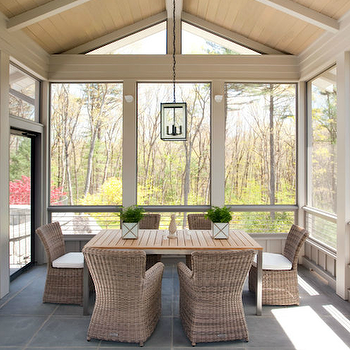 Glass Enclosed Patio
