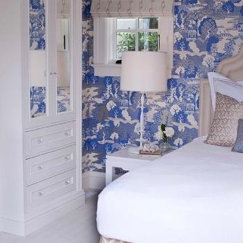 Chinoiserie Wallpaper French Bedroom