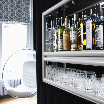 Living Room Built In Bar Design Ideas
