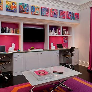 Built In Desks, Contemporary, girl's room, Kitchens by Deane
