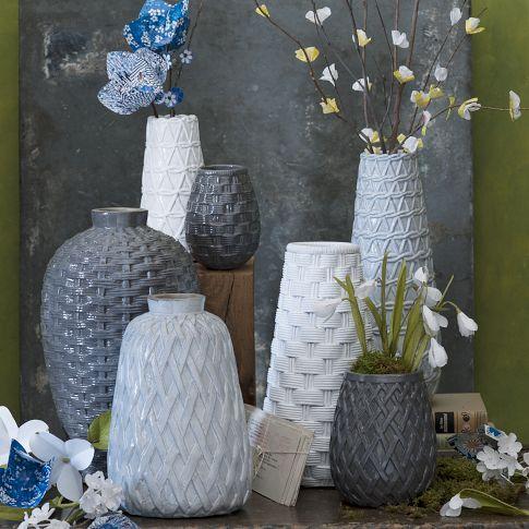 Ceramic Woven Vases West Elm