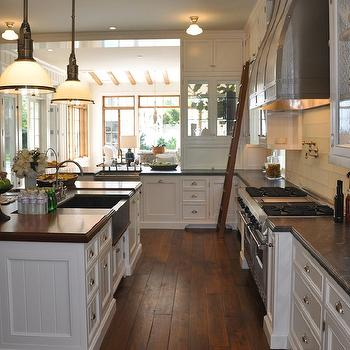 U Shaped Kitchen, Transitional, kitchen, Giannetti Home