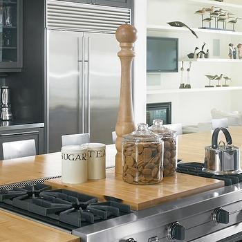 Kitchen Island Gas Cooktop Design Ideas