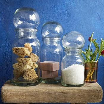 Bubble Canisters, west elm