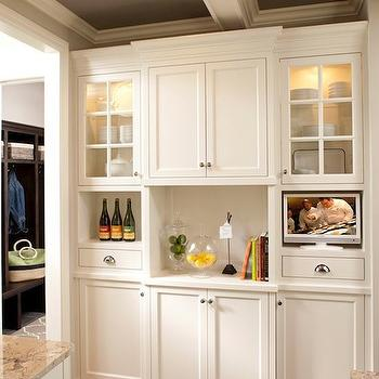Kitchen Built In Cabinets, Transitional, kitchen, Refined LLC
