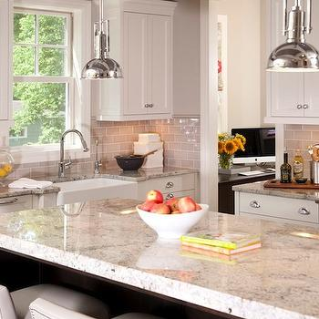 Gray Subway Tile, Transitional, kitchen, Refined LLC