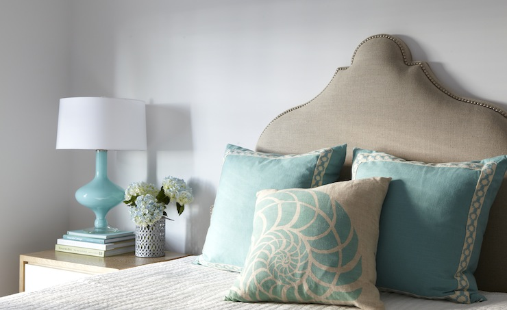 Charmant Turquoise Lamp