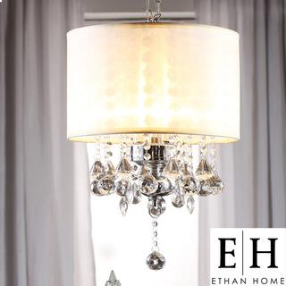 Ethan home silver mist crystal chandelier overstock mozeypictures Gallery