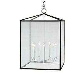 mirrors for bathrooms millbrook rectangular lantern by robert lighting 31457