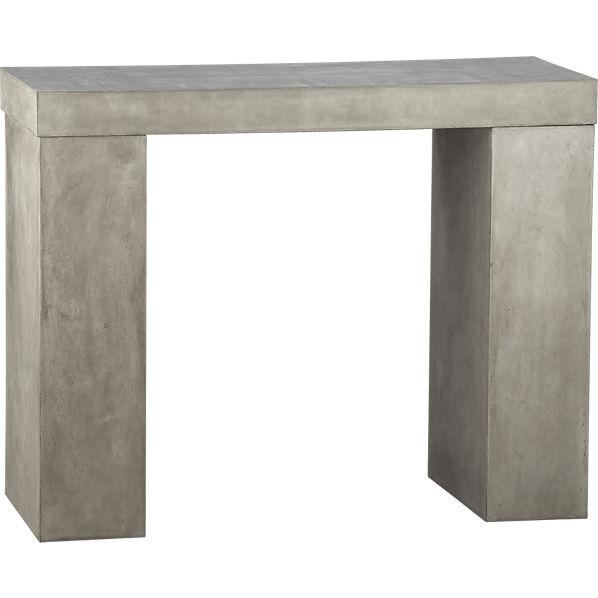 Element Console Table CB - Cb2 stone table