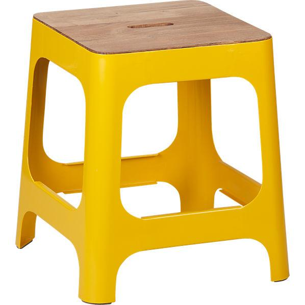 hitch marigold stool - CB2