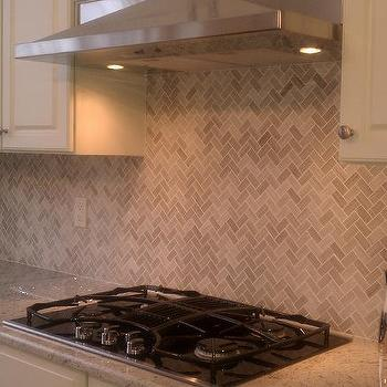 Herringbone Backsplash, Transitional, kitchen