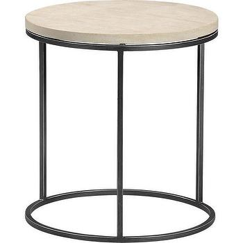 grind sandstone side table, CB2