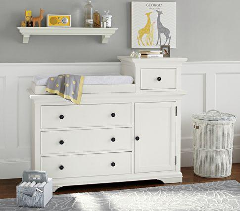 Larkin Hi Lo Changing Table Pottery Barn Kids