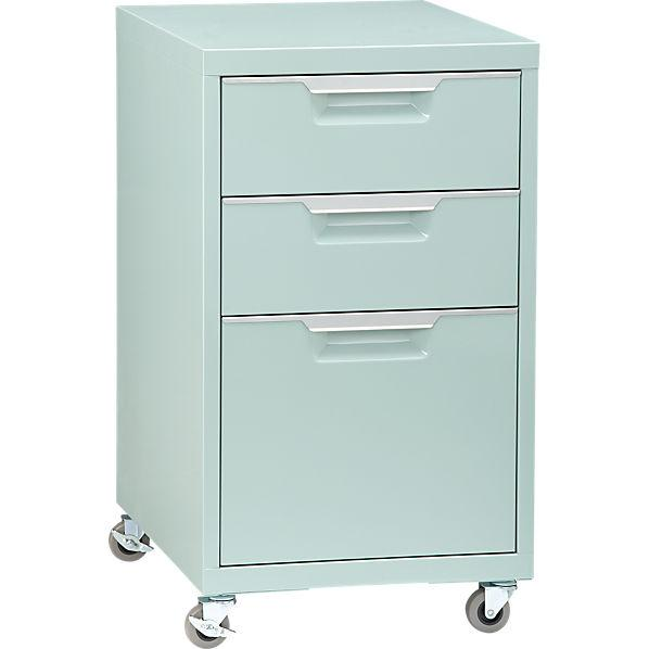 mint file cabinet - CB2