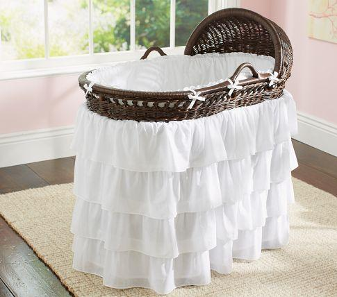 Monterey Bassinet Bedding Pottery Barn Kids