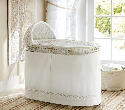 monterey bassinet bedding pottery barn kids - Bassinet Bedding