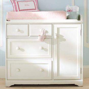 Change It Up Grey Diaper Changing Table