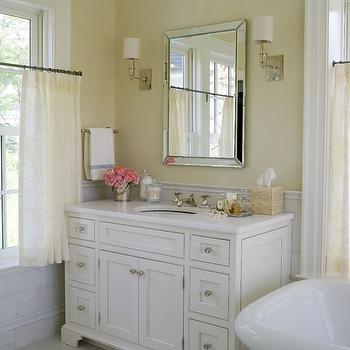 Marble Top Bathroom Vanity. Bathroom Crown Molding Design Ideas