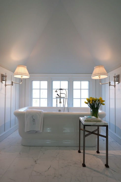 Attic Master Bathroom Transitional Bathroom Alisberg
