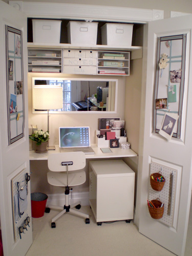 Closet Desk Design Ideas