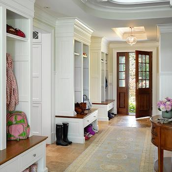 Mud Room Designs, Traditional, laundry room, Kate Coughlin Interiors
