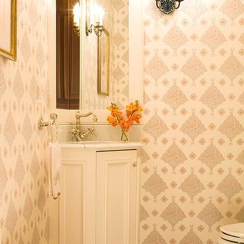 Corner Vanity, Traditional, bathroom, Kate Coughlin Interiors